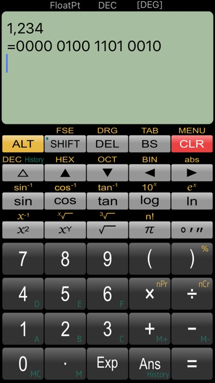Panecal Plus Sci. Calculator screenshot-3