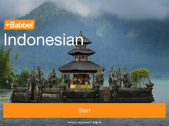Babbel – Learn Indonesian iPad