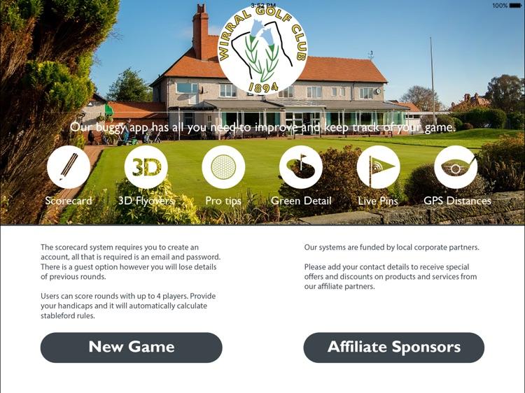 Wirral Golf Club - Buggy