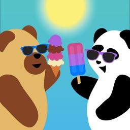 Bear & Panda