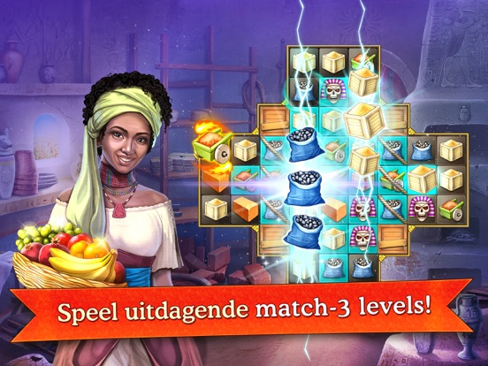 Cradle of empires match 3 game app voor iphone ipad en ipod touch cradle of empires match 3 game ipad app afbeelding 1 expocarfo Image collections