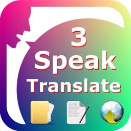 SpeakText 3 (Speak & Translate Text/Web/Doc)