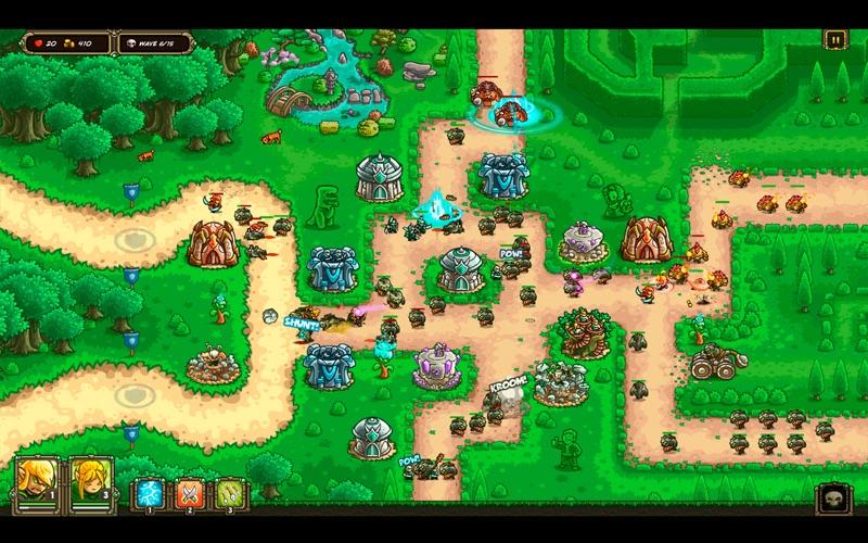 Kingdom Rush Origins HD Screenshots