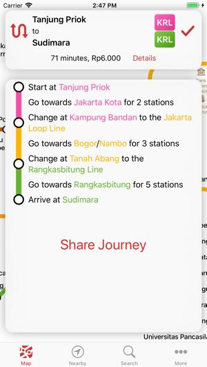 Jakarta Lrt Mrt Commuter On The App Store