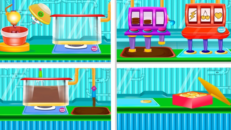 Tasty Candy Chocolate Factory screenshot-5