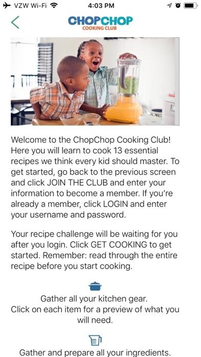 ChopChop Cooking Club Screenshot