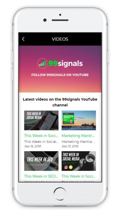 99signals: SEO & Blogging Tips