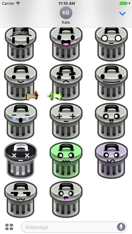 TrashMoji - Trash Can Emojis screenshot-3