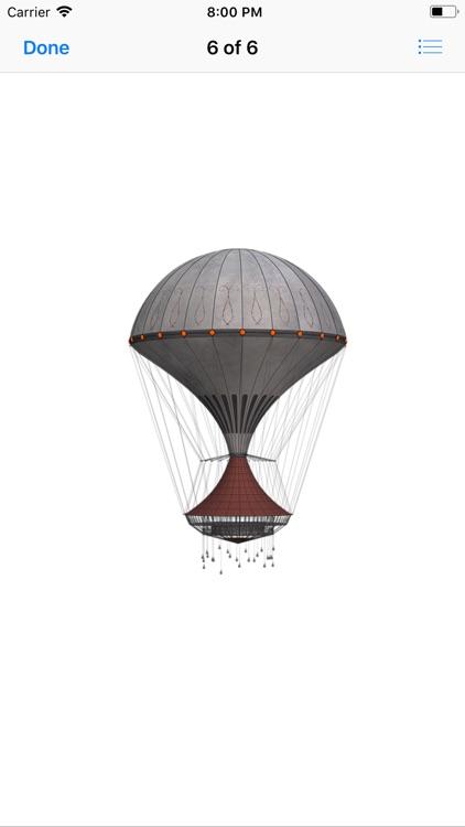 Vintage Hot Air Balloons screenshot-6
