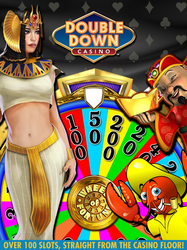 doubledown casino - free slots video poker blackjack and more itunes