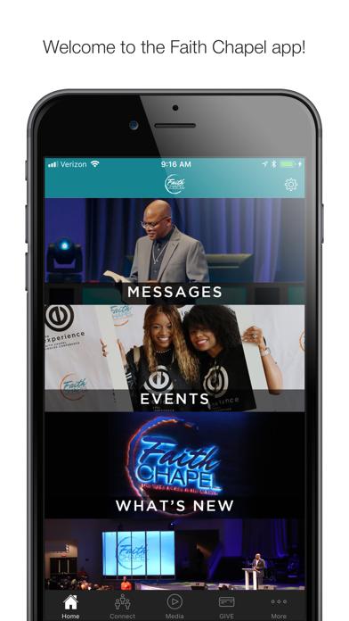 Faith Chapel App screenshot one