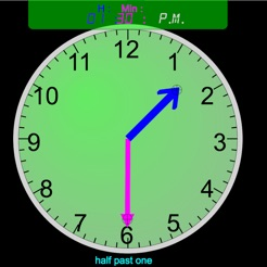 Clock Interactive for Kids on the App Store