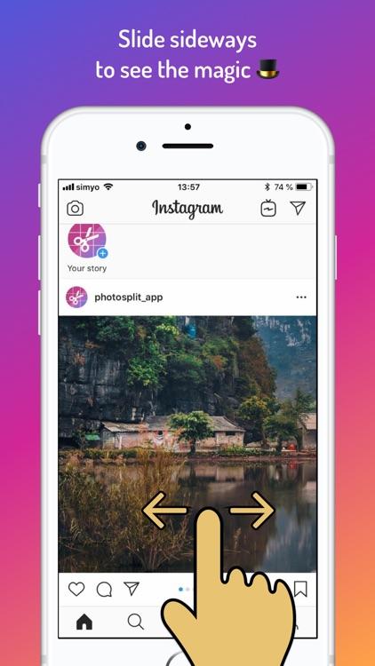 PanoSplit HD for Instagram screenshot-5