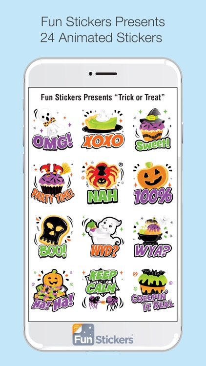 Halloween iSticker screenshot-2