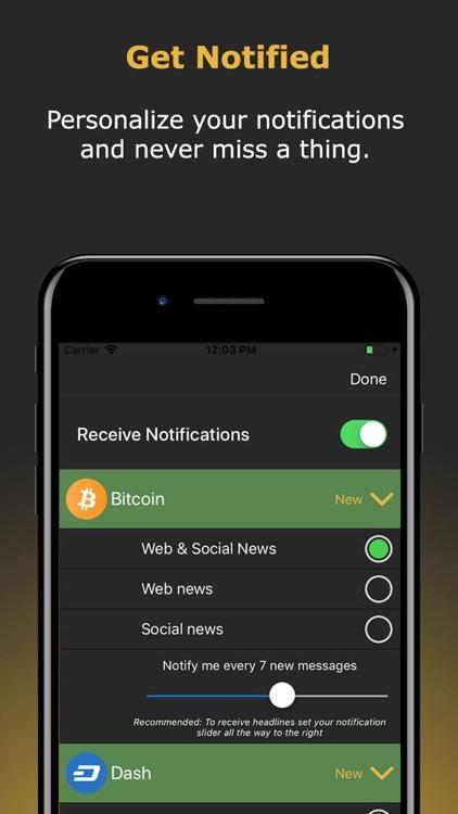Newsfolio - Crypto News screenshot-3