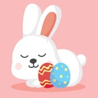 Cute Easter Bunny Coloring Book icon