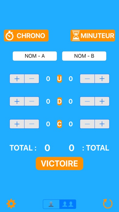 Screenshot of CompteurUDC App