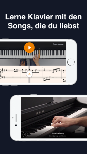 iPad Klaviertastatur