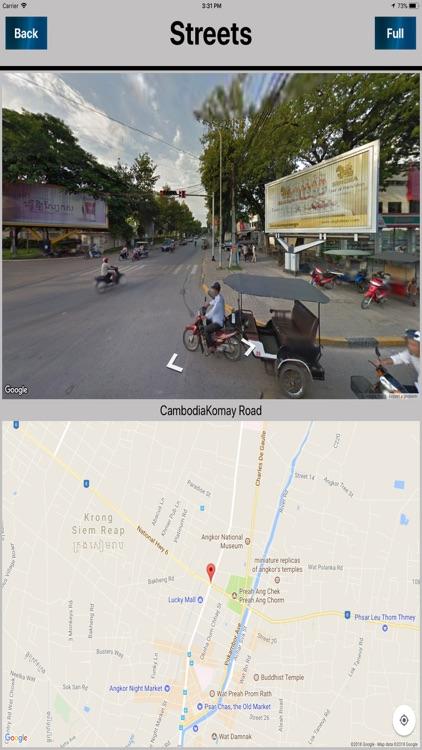 Siem Reap Cambodia Offlinemap screenshot-3