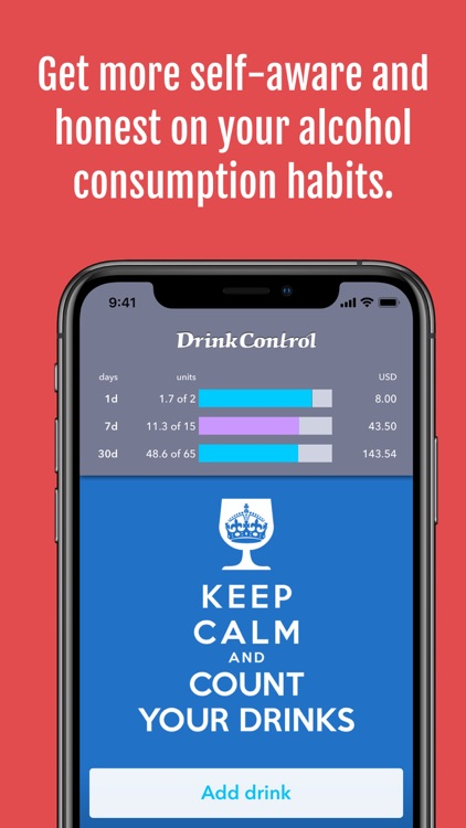 DrinkControl – Alcohol Tracker screenshot-7