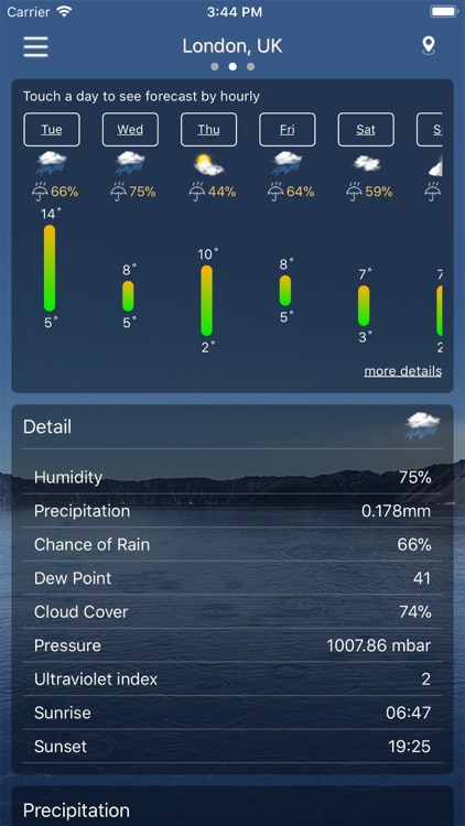 Weather : Weather forecast Pro screenshot-6