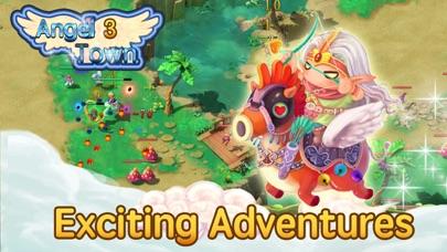 天使の町 3 - 放置系RPGゲーム ScreenShot3