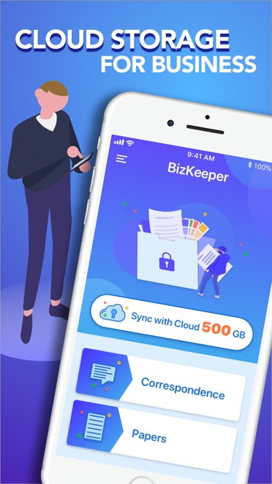 BizKeeper: notes cloud storage