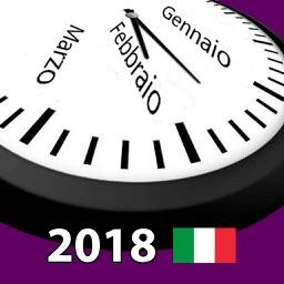 Calendario 2018 Italia AdFree