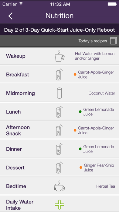Reboot with Joe Juice Diet App Screenshot