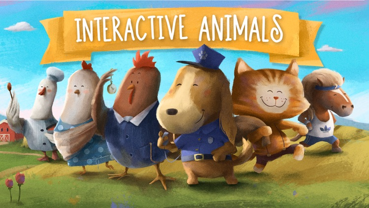 Let's Learn: Farm Animals screenshot-0