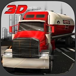 Oil Transporter Truck Simulator 3D – Drive the heavy fuel tanker & transport it to the gasoline stations