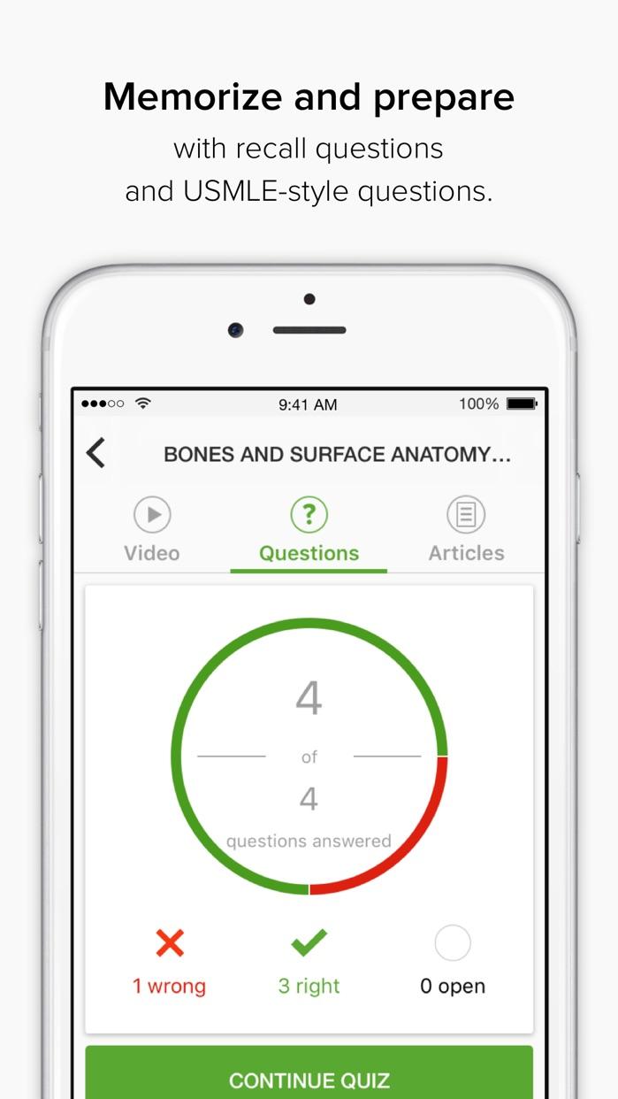 Lecturio Medical: USMLE & MCAT Screenshot