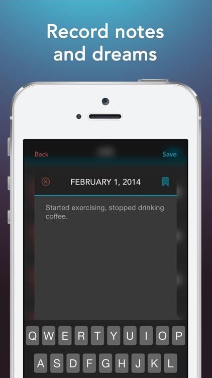 Sleep Science HQ: alarm clock screenshot-4