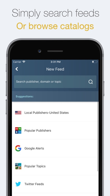 NewsTab: Smart RSS Reader screenshot-3