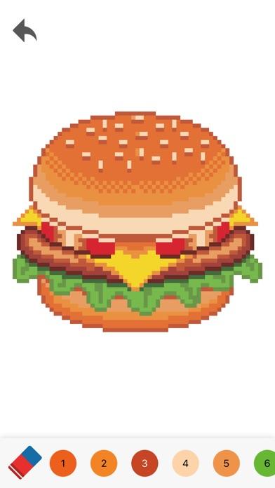 Pixelmania - 大人のための塗り絵スクリーンショット4