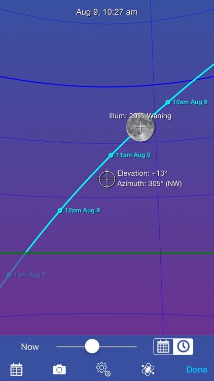 Moon Seeker - Lunar Calendar and 3D Path Viewer screenshot-3