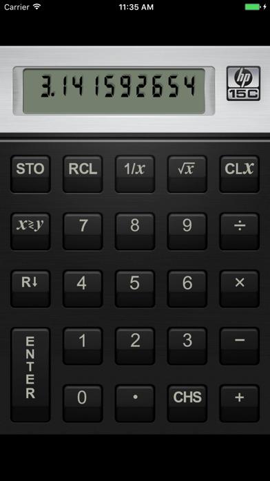 HP 15C Calculator Screenshot 2