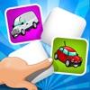 ABC 記憶ゲーム 子供のための - 学ぶ 車や車両との