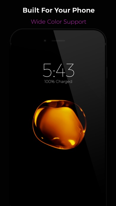 Black Lite - Live Wallpapers