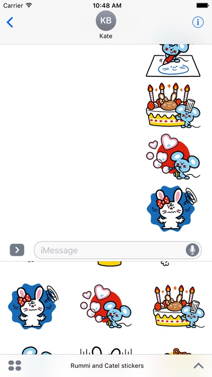 Rummi and Catel stickers
