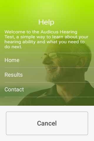 Audicus Hearing Test - náhled