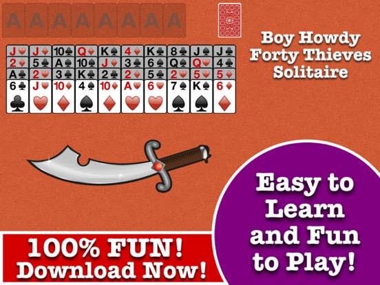Just solitaire forty thieves solitaire