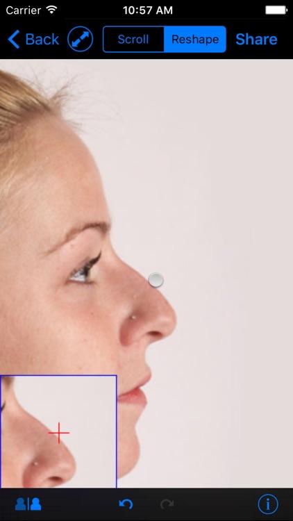 FaceTouchUp Nose Job Simulator