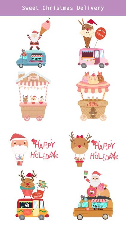 Sweet Happy Christmas Stickers screenshot-3