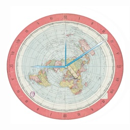 The Flat Earth Clock