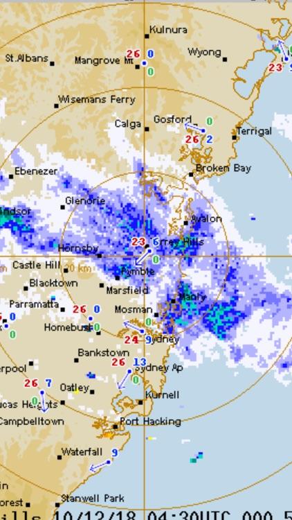 AUS Radar: WeatherAlert screenshot-7