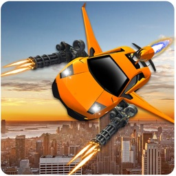 Flying Car Shooting Battle