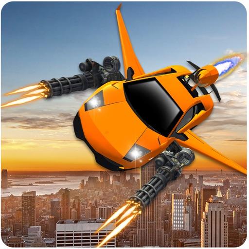 Летающая машина Стрельба