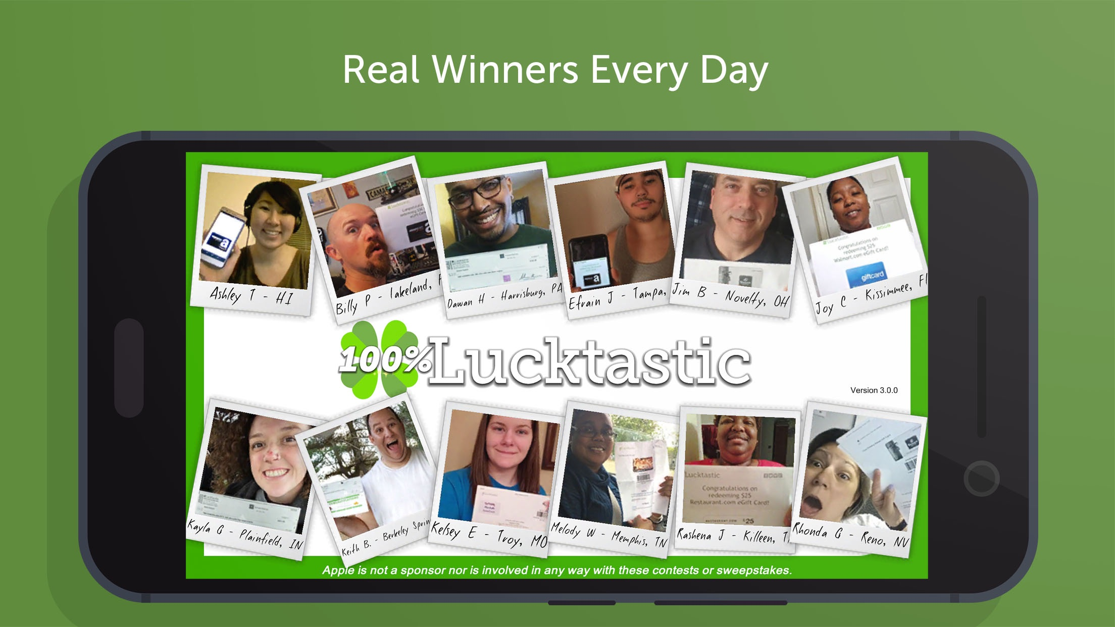 Lucktastic - Win Prizes. Earn & Redeem Rewards. Screenshot