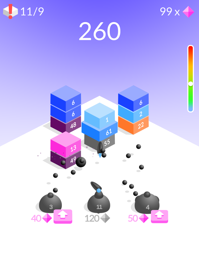 Blocks, game for IOS